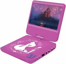Disney Princess 7 Inch Portable Car DVD Player - Pink