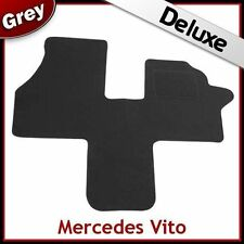 Tailored Carpet Mat LUXURY 1300g for MERCEDES VITO 1996-2003 GREY