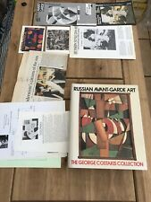 RUSSIAN AVANT-GARDE ART : The GEORGE COSTAKIS Collection -1981 (Thames & Hudson)