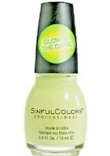 Sinful Colors Nail Polish 1353 Glow in the Dark ~ Halloween Color