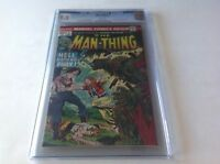 MAN-THING 2 CGC 9.0 WHITE PAGES BLACK ACTION CVR 1ST RICHARD RORY MARVEL COMICS