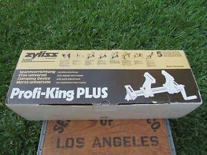 Zyliss Profi-King Plus Switzerland 50105 Hobby Vise Clamp System Manual Box