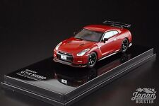 [Oversteer 1/64] Nissan GT-R Nismo 2014 Vibrant Red OS64003RE