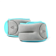 Reebok 2x1.5kg Ankle Weights - Grey/Blue