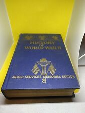 History of World War II HB w/out dj-Armed Services Memorial Edition-1945