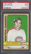PSA 9 - 1972-73 Topps #160 Ken Dryden Montreal Canadiens HOF