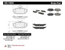 Disc Brake Pad Set-Sport Brake Pads Rear Stoptech fits 11-14 Ford Mustang