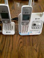 Att cordless phone with answering machine