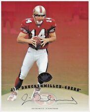 1997 LEAF AUTHENTIC SIGNATURES 8 X 10 AUTOGRAPH JIM DRUCKENMILLER 49ers