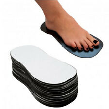 100 Pairs Disposable Sticky Feet Spray Sunless Tanning Sole Protector Durable