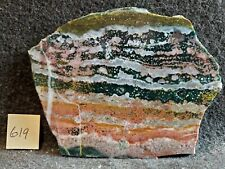Spectacular Madagascar Ocean Jasper for Cabbing, Awesome Array of Colors, XLarge