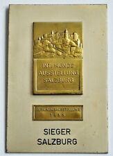 Plakette/Medaille > Int.Hunde-Ausstellung Salzburg > Sieger,1955 (243)