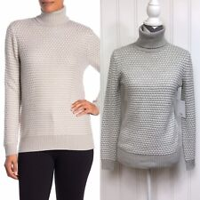 Women's Magaschoni Grey Heather Ivory Sweater Size XS