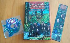 Catarbie Conspiracy paperback + Bookmark + Screensaver mini-CD!! Discount Sale!!