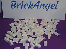 NEW LEGO White 1X2X2/3 30º Slope Bricks Lot of 100 Pieces 85984