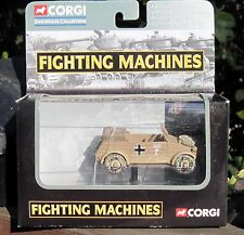 2002 Corgi Fighting Machines World War II Kubelwagen German Afrika Korpc DCM-MIB