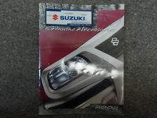 2002 Suzuki Genuine Accessories Parts Catalog Manual FACTORY OEM BOOK 02