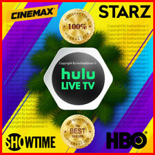 HULU PREMIUM 🎥 No Commercials | Live Tv | HBO | SHOWTIME |STARZ | CINEMAX ✅