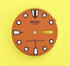 NEW SEIKO DIAL FOR SEIKO 6309 7040 ORANGE MENS SERIES DIVERS WATCH NR-024