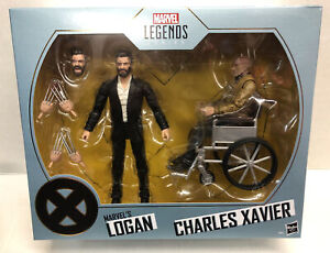 Marvel Legends  X-Men Logan & Charles Xavier SDCC Exclusive