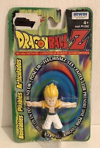 Dragon Ball Z Figurine Pliable Non Articulée Super Saiyan Gotrunks Irwin  Toei