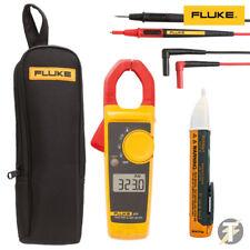 Fluke 323 Clamp Meter with TL175 Leads, Fluke C150 Case and 1AC Voltstick KIT6N