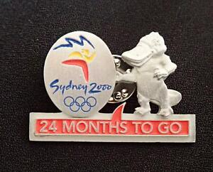 Ltd. Ed #3471 SYDNEY 2000 OLYMPIC GAMES 24 MONTHS TO GO COUNTDOWN PEWTER PIN