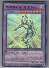 YU-GI-OH Maskierter Held Koga Super Rare SDHS-DE042