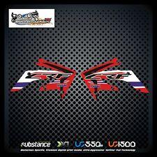 Honda CRF250X 04-12 HRC Rad Rojo Decal Sticker MX (124)