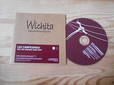 CD Pop Los Campesinos - You Me Dancing (1 Song) Promo WICHITA