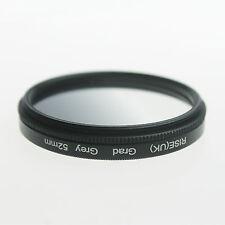Adjust 52mm Graduated Grey Density ND Lens Filter For Nikon D3000 D5100 D3100