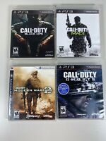 Call of Duty PlayStation 3 Black Ops 1 Modern Warfare 2 & 3 Ghosts PS3 - Bundle