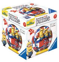 72001-V2 Ravensburger Minions London 3D Puzzle 54pc  [Children's Jigsaw Puzzle]