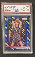 2018 Panini Prizm Kevin Huerter Blue Yellow Green ROOKIE RC #68 PSA 8.5 🔥📈