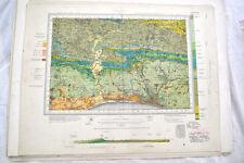 Vintage 1940's original OS geological map Brighton