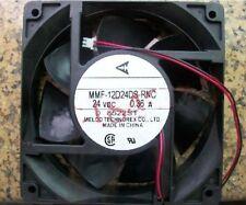 MMF-12D24DS-RNC  120x38mm Fan 24V 0.36A  813-1