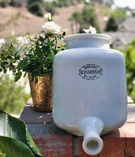 Rare Unique French Porcelain Antique Biberons Massonat Calf Nurser Circa 1900s