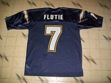 SAN DIEGO CHARGERS DOUG FLUTIE FOOTBALL JERSEY NIKE SIZE LARGE NICE SHAPE MESH