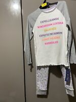 New Girls M&S Harry Potter pyjamas/night Suit Top And Bottoms 6-7 years