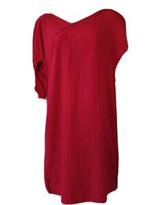 BNWT Fendi Designer Red Sheath Dress Cocktail Party US 4 UK 8 IT 38