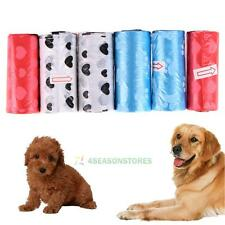 6 Rolls Pet Biodegradable Waste Poop Bags Dog Cat Clean Up Refill Garbage Bag