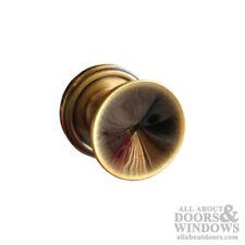 Weslock 800 Series Passage Knob Handleset in Antique Brass Finish