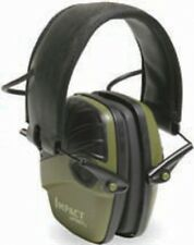 NEW Howard Leight R-01526 Impact Sport Electric Earmuff Olive Drab Green