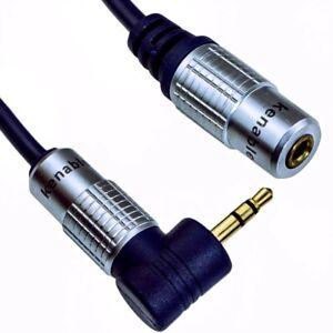 3.5mm Stereo Jack Headphone Extension Cable Aux Audio Lead OFC GOLD 1m 2m 3m 5m
