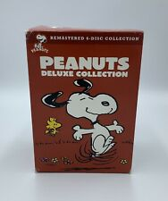 Peanuts: Deluxe Collection (2008, 6-disc DVD set) Charlie Brown / Snoopy