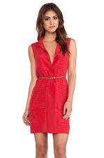 Nwt Equipment Sleeveless Lucida Crocodile Print Silk Dress, Red Size S $268