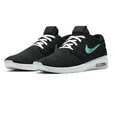 Nike Womens SB Air Max Janoski 2 Sneakers Shoes Black Mint 9.5 New