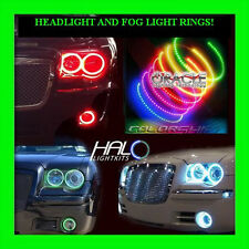 2005-2010 CHRYSLER 300C COLORSHIFT LED HEADLIGHT+FOG HALO KIT by ORACLE