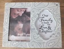 MOTION SENSOR LIGHTS UP MANTEL FREESTANDING  WALL FAMILY PICTURE PHOTO FRAME