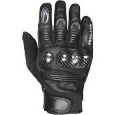 Gants noirs Richa pour motocyclette Eté